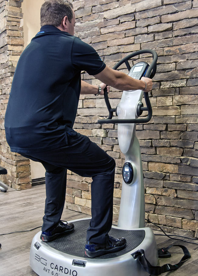 36 cardio vibration machine