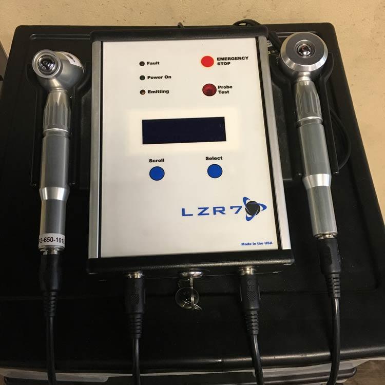 Laser therapy technique