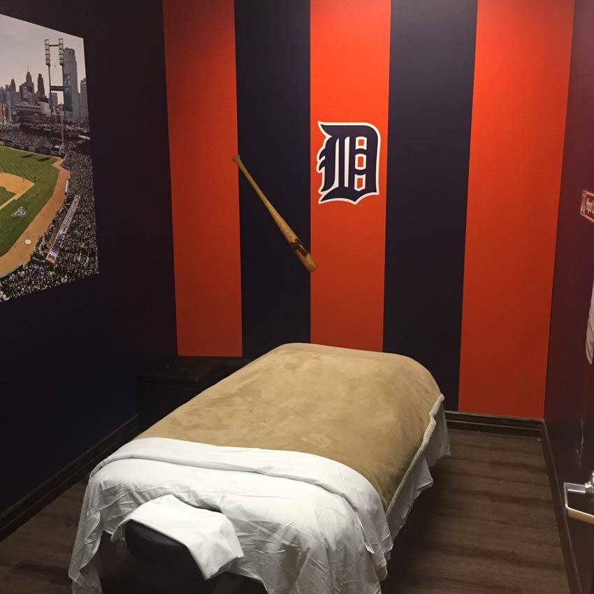 massage room tigers